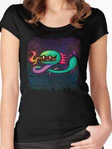 Earthbound Kraken Women's Fitted Scoop T-Shirt