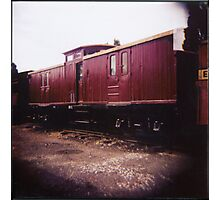 Guards Van Photographic Print