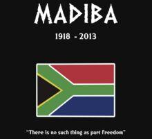 Madiba (Nelson Mandela) by Samuel Sheats