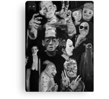 1920s - 1930s Horror Canvas Print