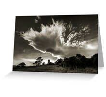 Midlands Cloudscape Greeting Card