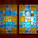 The Amazing Abbasi Hotel - Stained Glass - Esfahan - Iran by Bryan Freeman