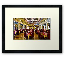 The Amazing Abbasi Hotel - Restaurant - Esfahan - Iran Framed Print