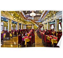 The Amazing Abbasi Hotel - Restaurant - Esfahan - Iran Poster