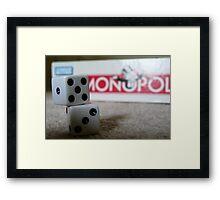 Time for Monopoly Framed Print