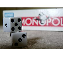 Time for Monopoly Photographic Print