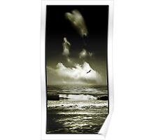 Surf and Sky Poster