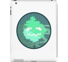 green ghost iPad Case/Skin