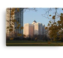 Edgewater Beach Hotel Canvas Print