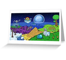 Terraria biomes Greeting Card