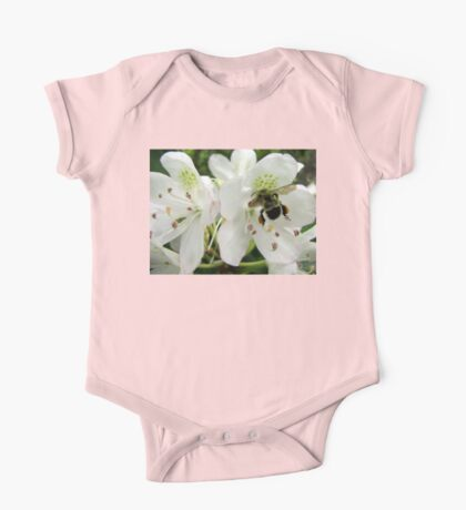 Pollen Packing Bumble Bee One Piece - Short Sleeve
