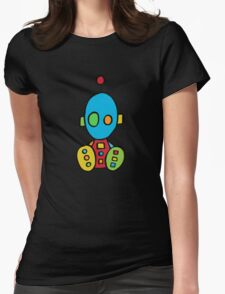 Baby Boy Bot Womens Fitted T-Shirt