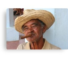 Cuban Man Canvas Print