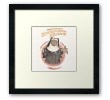 Nunchucking Nunchuck Framed Print