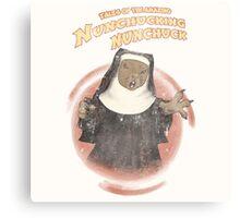 Nunchucking Nunchuck Canvas Print