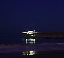 pier by Michael McCasland