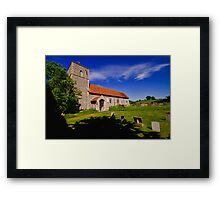 St Giles, Houghton St Giles Framed Print