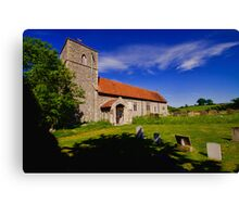 St Giles, Houghton St Giles Canvas Print