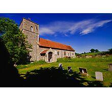 St Giles, Houghton St Giles Photographic Print