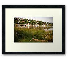 Launceston Harbour Framed Print
