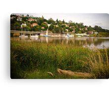 Launceston Harbour Canvas Print