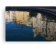 Reflected Architecture - Plovdiv, Bulgaria Canvas Print