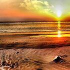 Aberafan Sunset by Brian Beckett