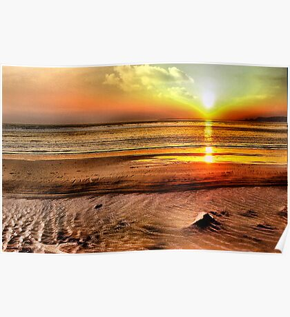 Aberafan Sunset Poster