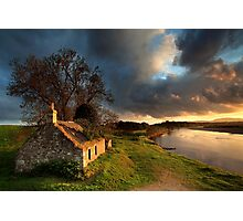 Kercock Bothy - River Tay - Perthshire Photographic Print