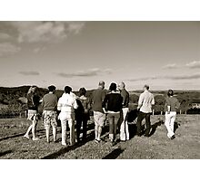 Family Affair - Adelaide Hills  Photographic Print