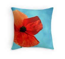 Sun-Drenched Throw Pillow