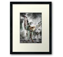 When Angels Fall. Framed Print