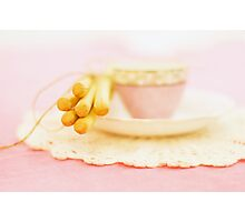 Afternoon Tea Party Photographic Print