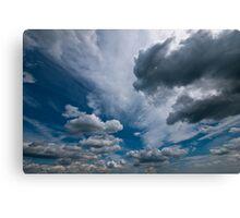 ditchling beacon sky Canvas Print