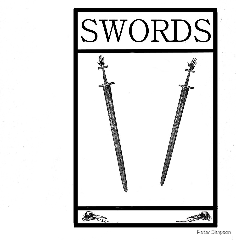 2 of Swords by Peter Simpson