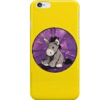 Donkey Plush (yellow) iPhone Case/Skin