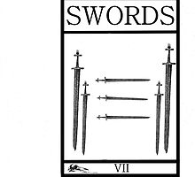 7 of Swords by Peter Simpson