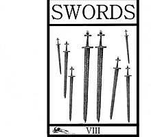 8 of Swords by Peter Simpson