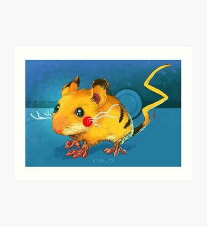 Electric Mouse Art Print