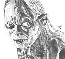 Gollum by Melchizedek