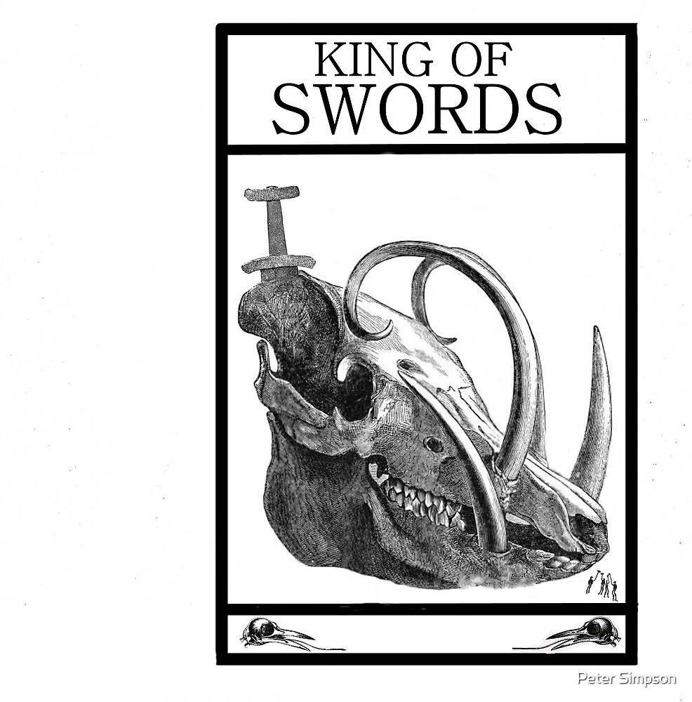 King of Swords by Peter Simpson
