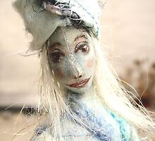 Blue doll by Lilaviolet