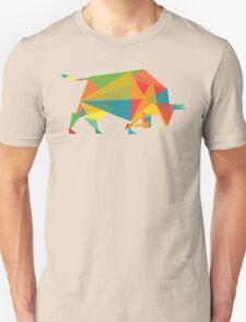 Fractal geometric bull T-Shirt