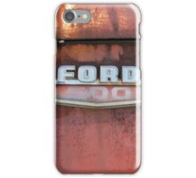 On Rusty White Truck iPhone Case/Skin