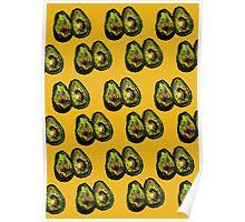 Avocado - Mustard Poster