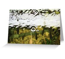 What lies beneath the surface? Greeting Card