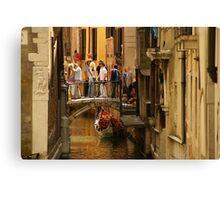 Venezia Calle Canvas Print