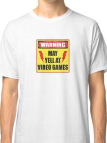 Gamer Warning Classic T-Shirt