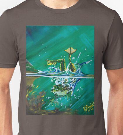 Frog Splash #2 Unisex T-Shirt