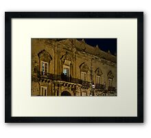 A Ball at the Palace  Framed Print